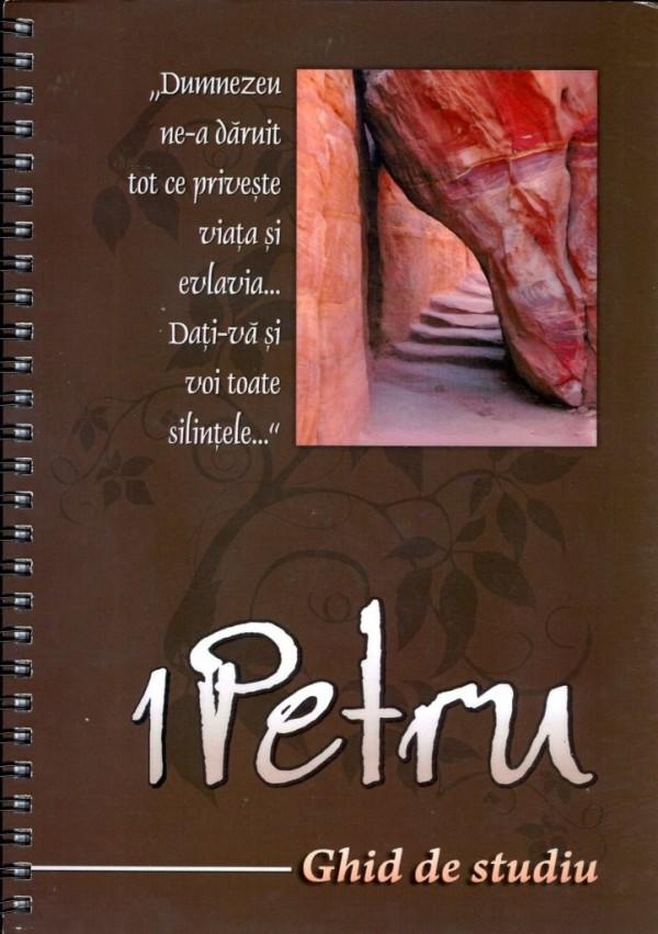 Epistola 1 Petru carte de studiu biblic