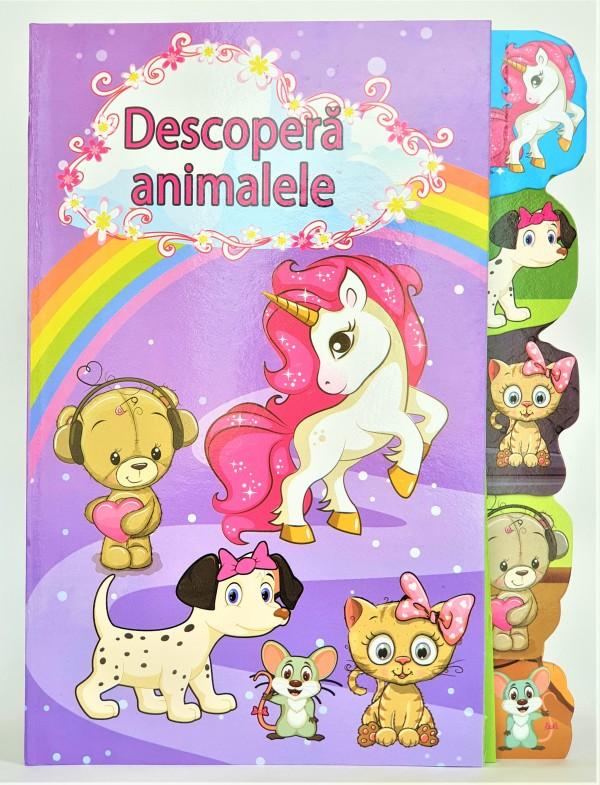 Descopera animalele  - Carte despre animale pentru copii (3-7 ani)