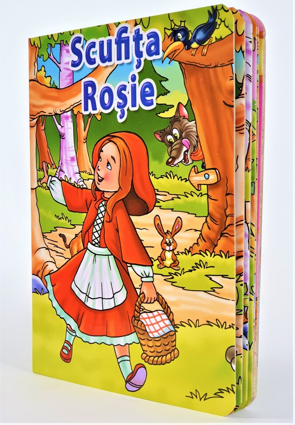 Scufita Rosie - Povestiri pentru copii (3-7 ani)