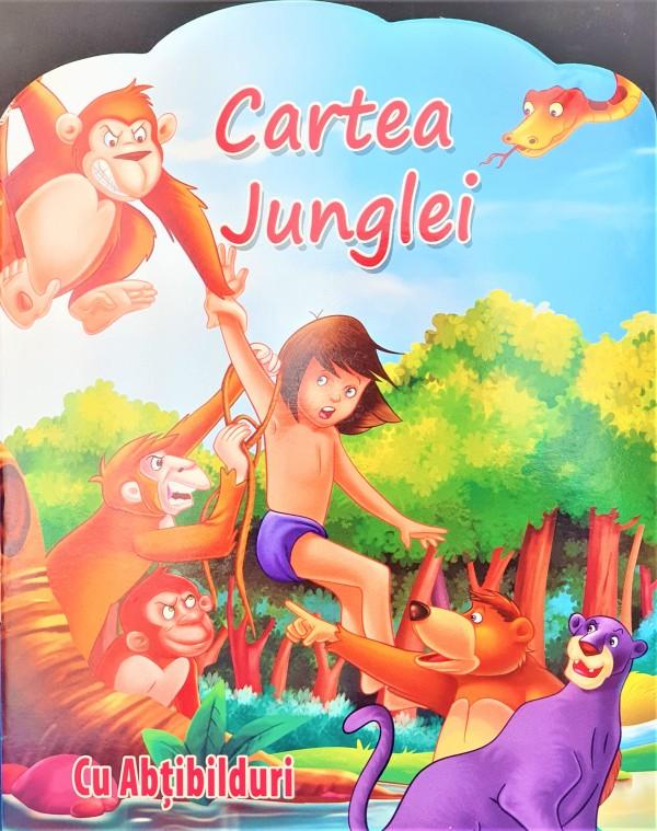 Cartea Junglei, cu Abtibilduri - Povestiri pentru copii (5-7 ani)