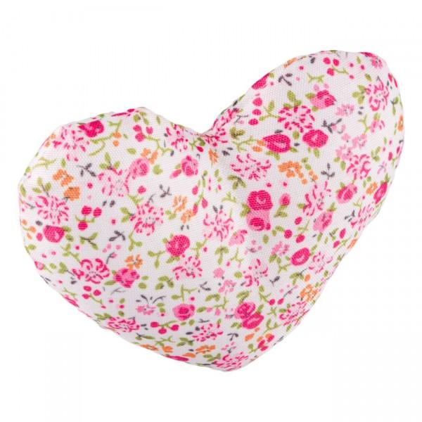 Odorizant inima stofa 2 buc (10x8 cm)