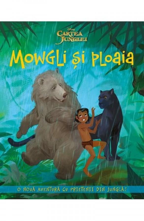 Cartea Junglei - Mowgli si Ploaia - Povestiri pentru copii (5-7 ani)