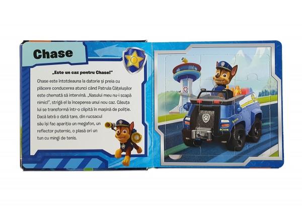 Carte cu puzzle-uri pentru copii - Paw Petrol (3+)