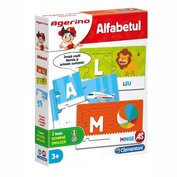 Alfabetul - Joc Clementoni Agerino (3+)