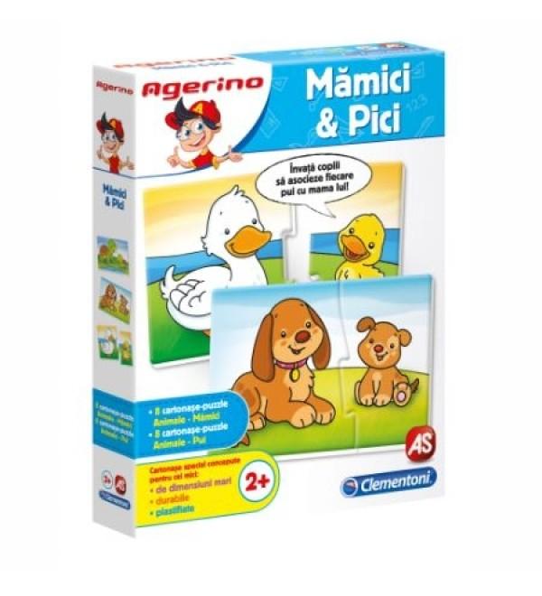Mamici si pici - Joc Clementoni Agerino (2+)