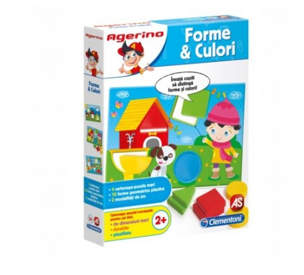 Forme si Culori - Joc Clementoni Agerino (2+)