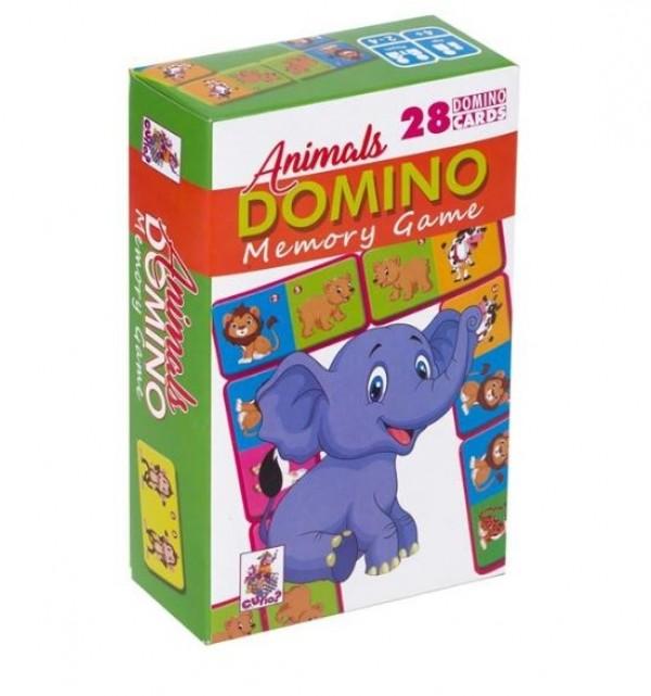 DOMINO cu animale - Joc pentru copii (4+)