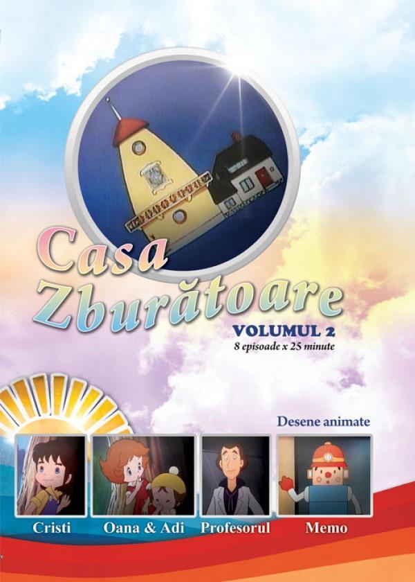 Casa zburatoare, desene animate crestine pentru copii
