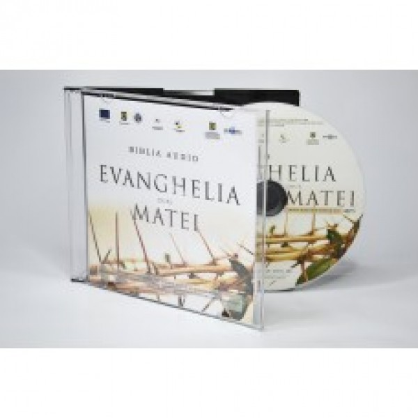 CD mp3 Evanghelia dupa Matei. Asculta Biblia!