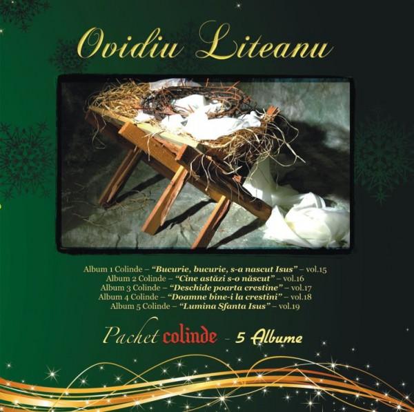 Colinde [pachet 5 albume], Ovidiu Liteanu