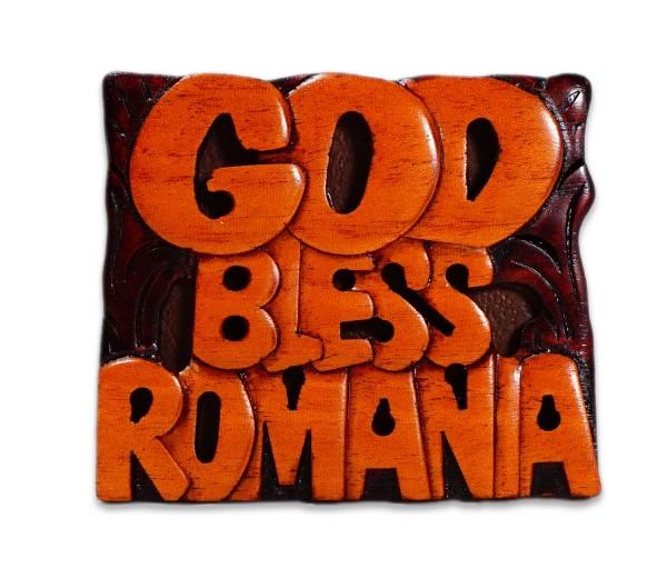 Magnet de frigider Gos Bless Romania