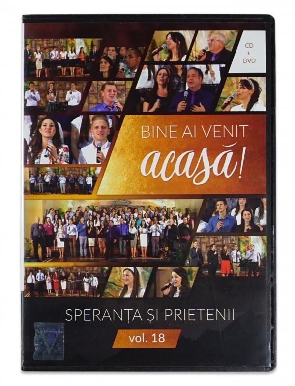 Speranta si prietenii- Bine ai venit acasa- vol.18  , DVD, CD