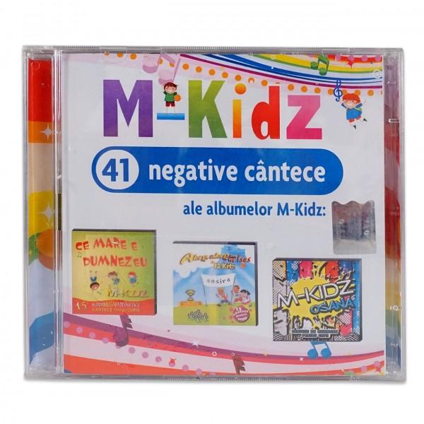 Dublu CD negative M-Kidz