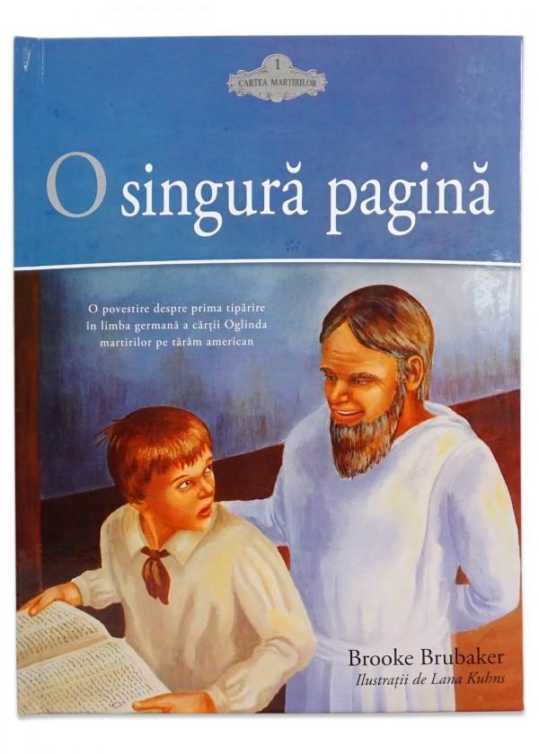 O singură pagină - Povestire creștină