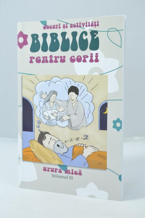 Jocuri si activitati biblice pentru copii