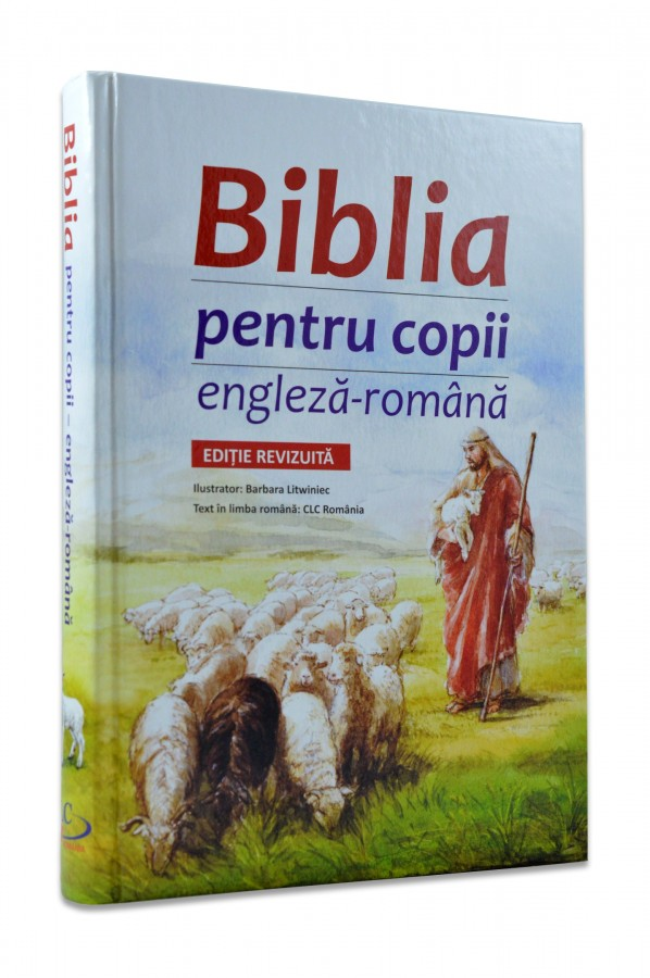 Biblia pentru copii engleza romana