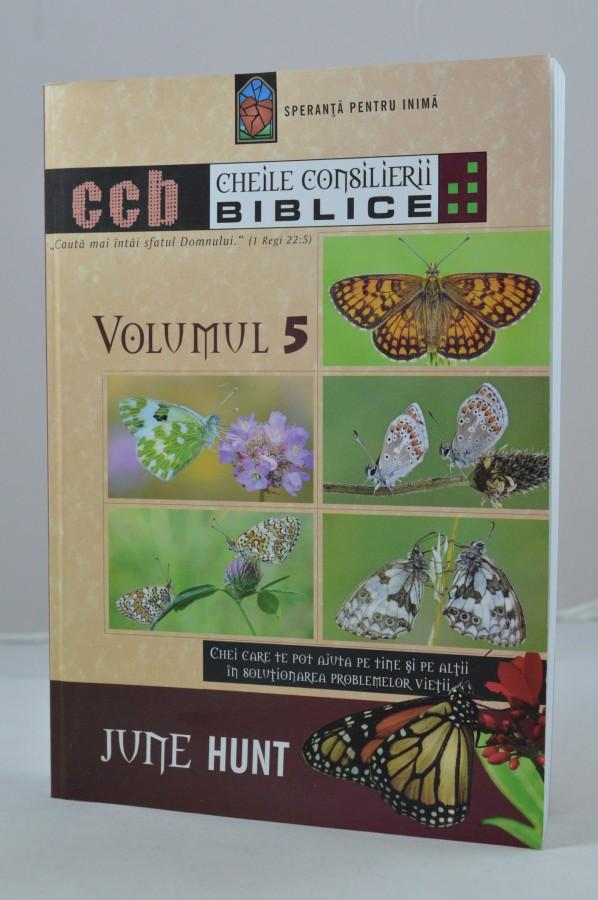 Cheile Consilierii Biblice, vol. 5 de June Hunt