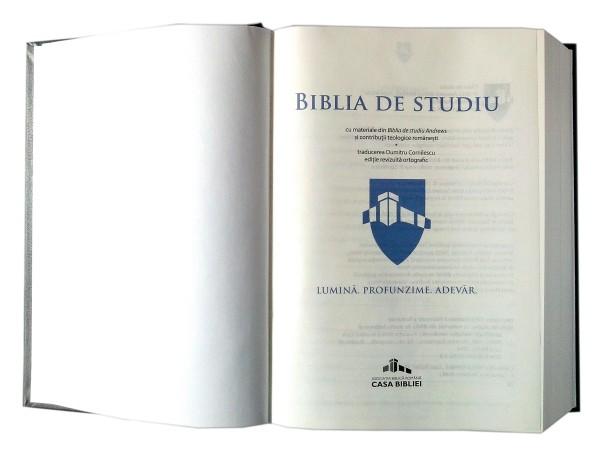Biblia de studiu