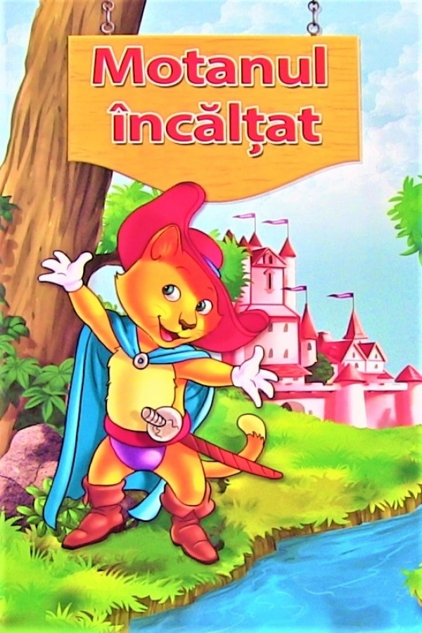 Motanul incaltat - Povestiri pentru copii (3-7 ani)