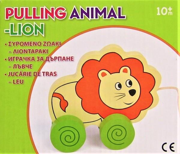 Jucarie de tras - LEU - Jucarii pentru copii (10+ luni)