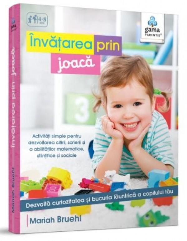 Invatarea prin joaca - Carte cu activitati pentru copii (4-8 ani)