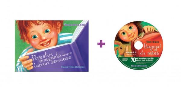 Pachet Povestiri amuzante despre lucruri serioase + CD 2