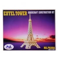 Puzzle din lemn - Turnul Eiffel 3D, 22 piese - Activitati pentru copii (8+)