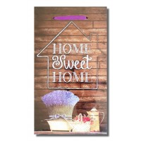 Tablou motivational ( 27x50 ) - Home Sweet Home