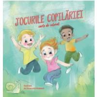 Jocurile copilăriei - Carte de colorat