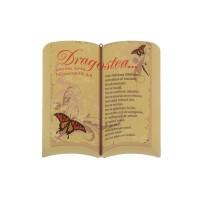 Aplica carte deschisa - Dragostea ( 20 x 20)