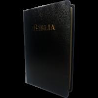 Biblia - traducere Fidela, cu litere foarte mari, marime mare, coperta piele ecologica, neagra (editia 4)