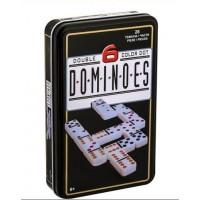 DOMINO, cutie metalica - Joc pentru copii (6+)