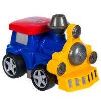 Trenulet albastru - Jucarii pentru copii