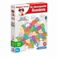 Sa descoperim Romania - Joc Clementoni Agerino (5+)