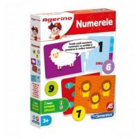 Numerele - Joc Clementoni Agerino (3+)