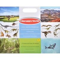 Set Autocolante reutilizabile - Dinozauri (3+) (35x28cm)
