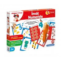 Invat Numerele cu stilou electronic - Joc Clementoni Agerino (3+)