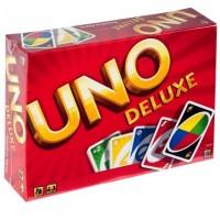 Carti de joc UNO deluxe - Joc pentru copii (7+)