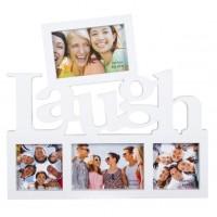 Rama foto alba - Laugh - 4 poze (39x35cm)