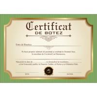 Certificat de Botez - model 7