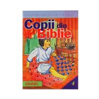 Copii din Biblie - Carte biblica de colorat