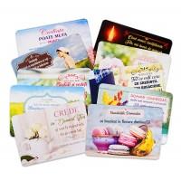 Set 10 carduri autocolante - Diverse versete biblice