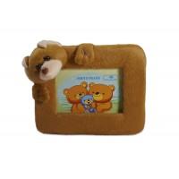 Rama foto ursulet plus pentru copii (18x25 cm)