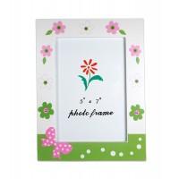 Rama foto cu motive florale (13x18 cm)