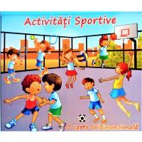 Activitati sportive - Carte tridimensionala pentru copii (3-5 ani)