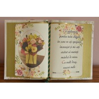 Carte decorativa - ...Cu mult drag, soacrei mele (14x21 cm)