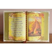Carte decorativa - Simpla ta apropiere e o incantare... (14x21 cm)