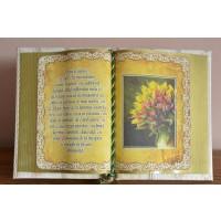 Carte decorativa - Cum te iubesc... (14x21 cm)
