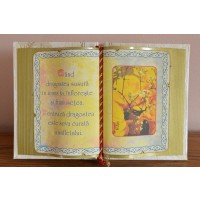Carte decorativa - Cand dragostea susura in inima ta... (14x21 cm)