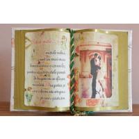 Carte decorativa - Sotiei mele... Emotiile iubirii sunt ...(10x14 cm)